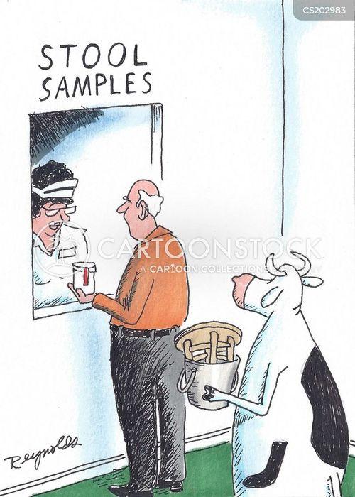 stool cartoon