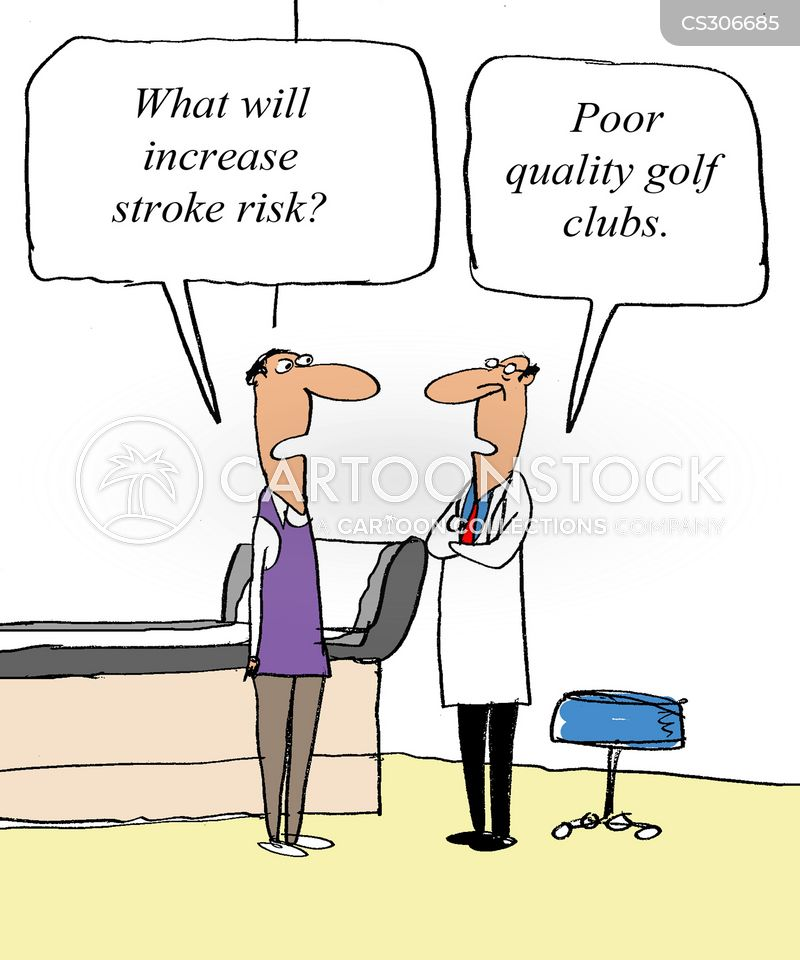 Image result for stroke cartoon