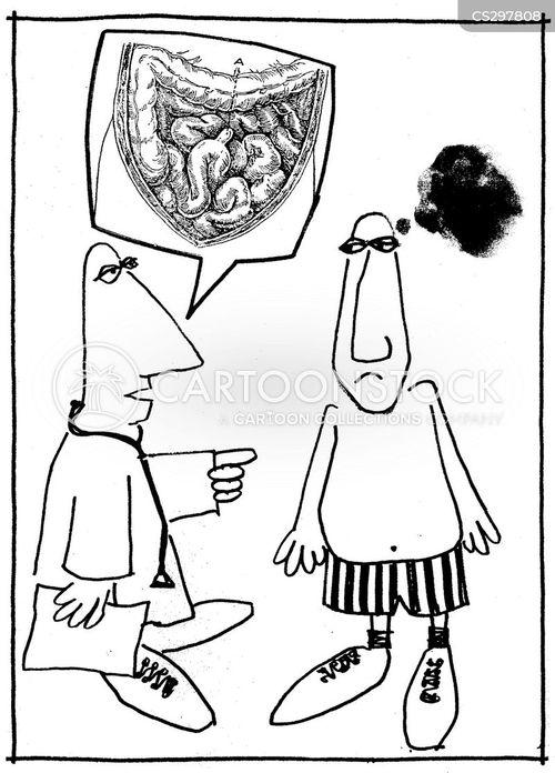 intestine cartoon