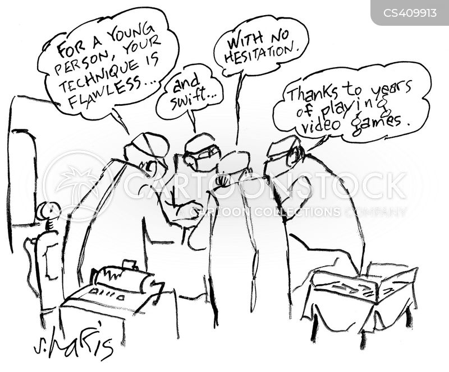 medical careers cartoon