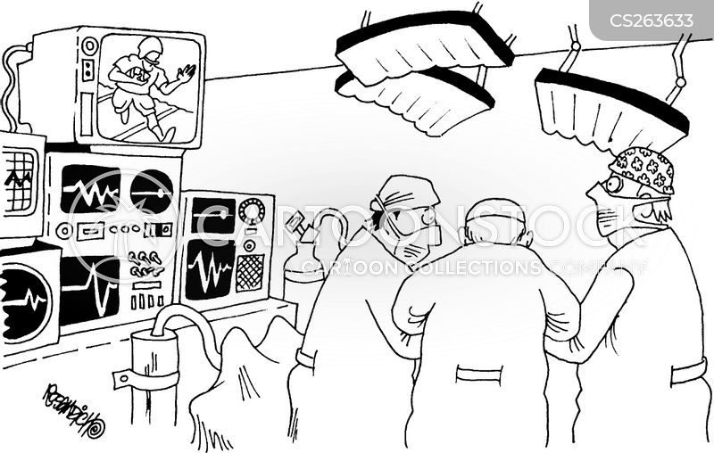 monitored cartoon
