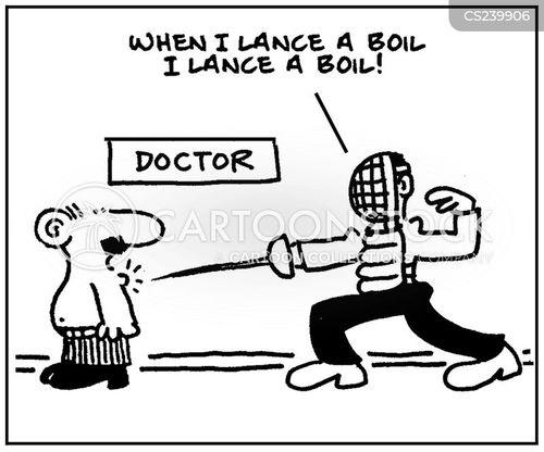lance cartoon