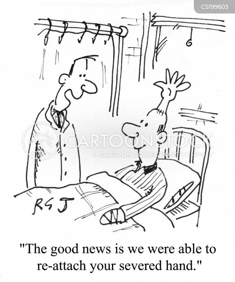 good news and bad news cartoon