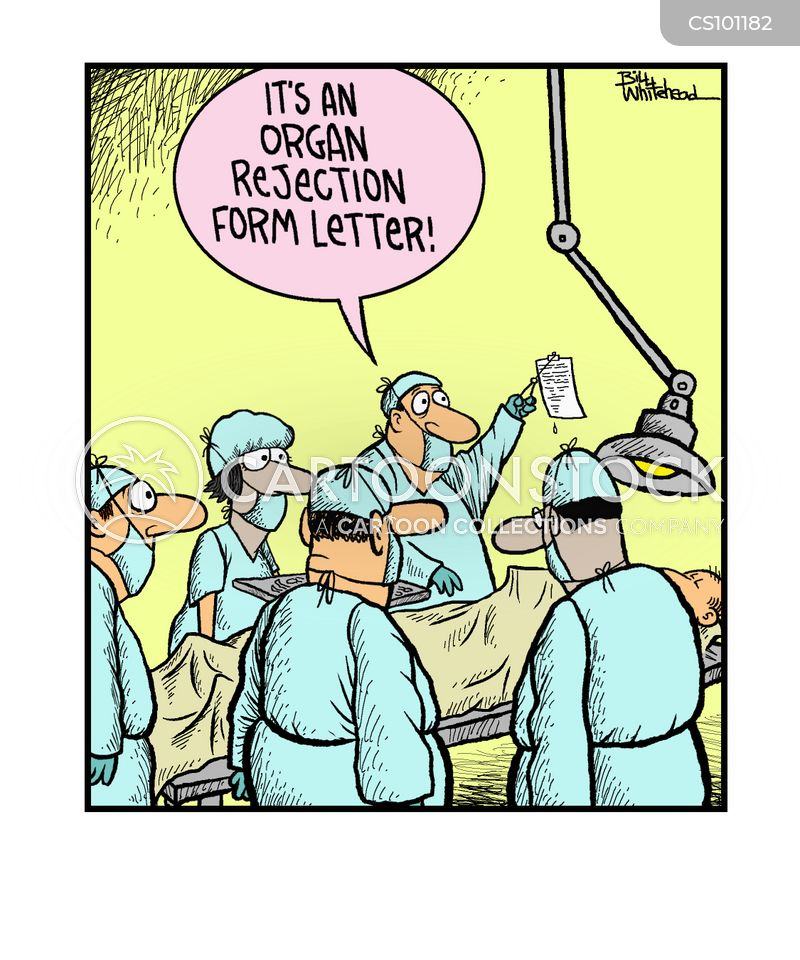 organ cartoon