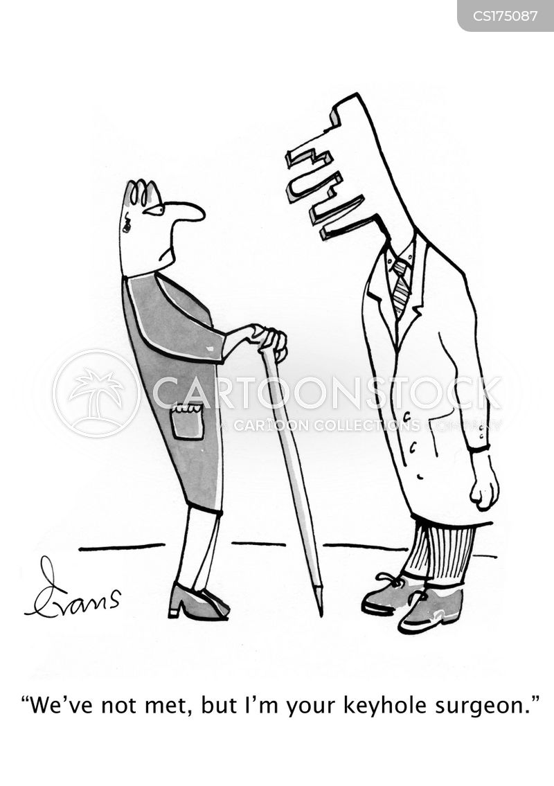 keyhole surgery cartoon