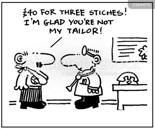 stitching cartoon