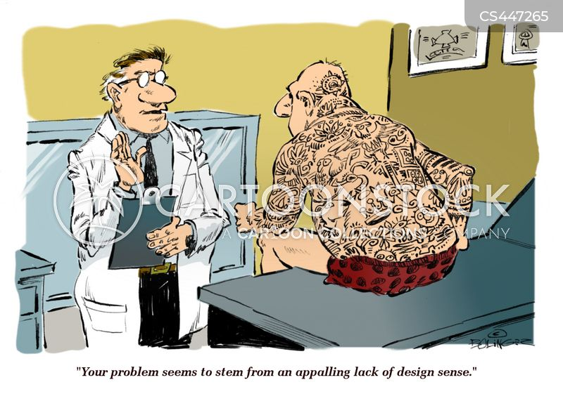 skin doctor cartoon