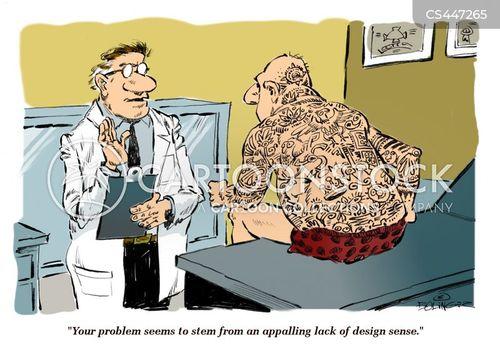 lab coat cartoon