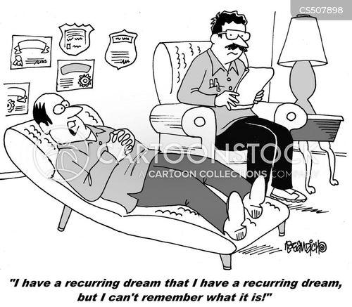 dream analysis cartoon