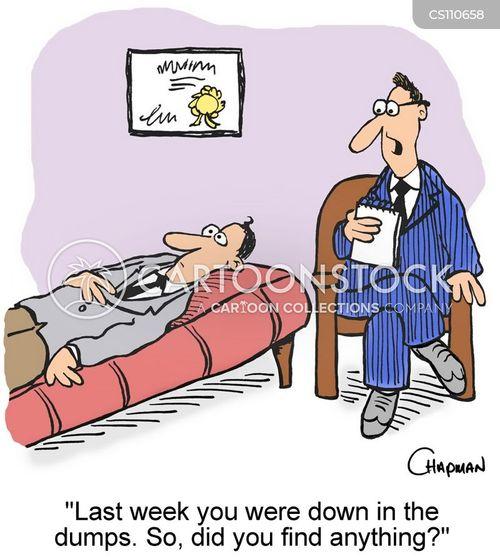 psychiatric care cartoon