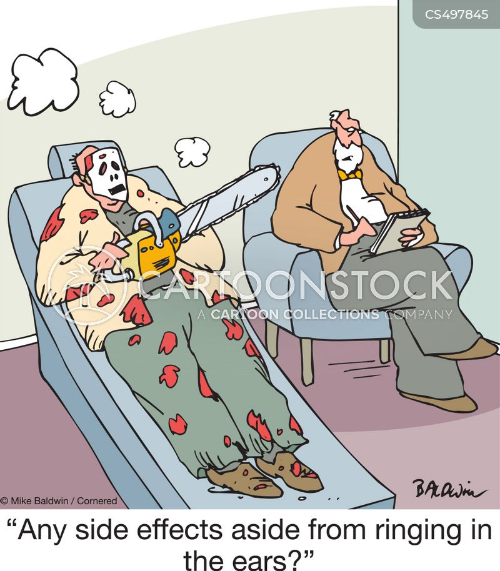drug side effects cartoon
