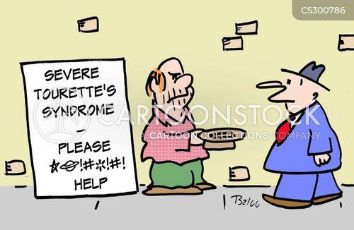 neuropsychiatric disorder cartoon