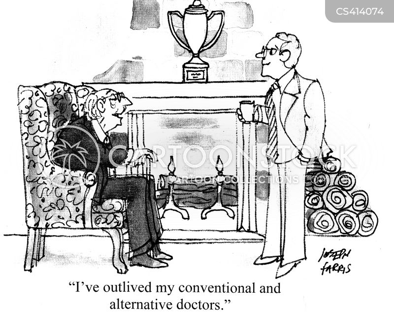 conventional medicine cartoon