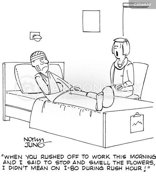 busy lifestyles cartoon
