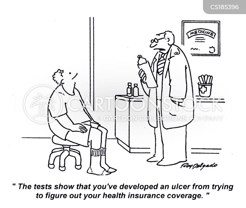 ulcer cartoon