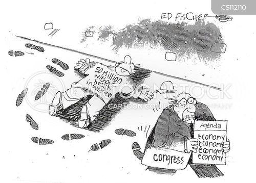 uninsured cartoon