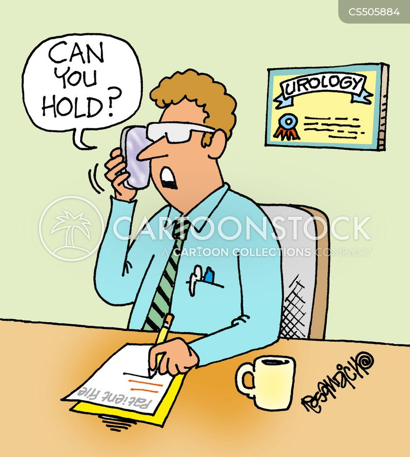 hold buttons cartoon