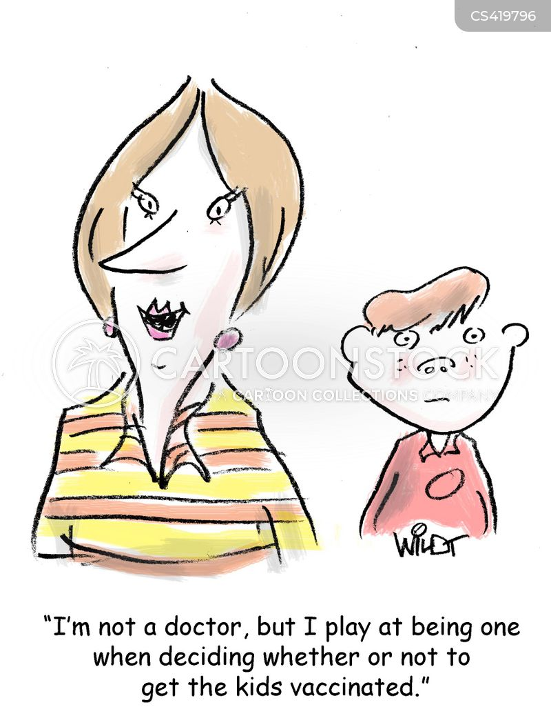 immunization cartoon