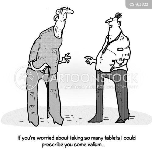 over-prescribed cartoon