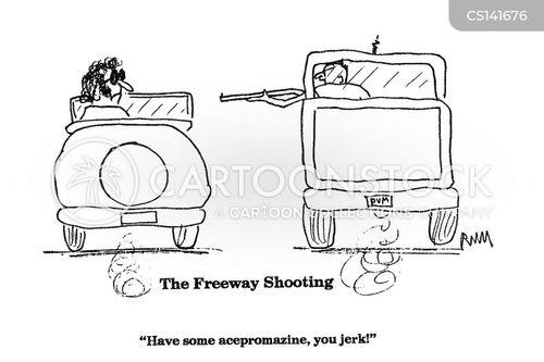 tranquilizer gun cartoon