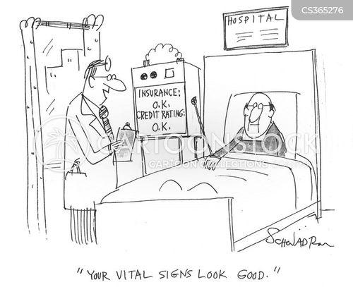 vital signs cartoon