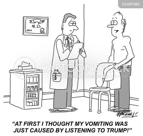 vomiting bug cartoon