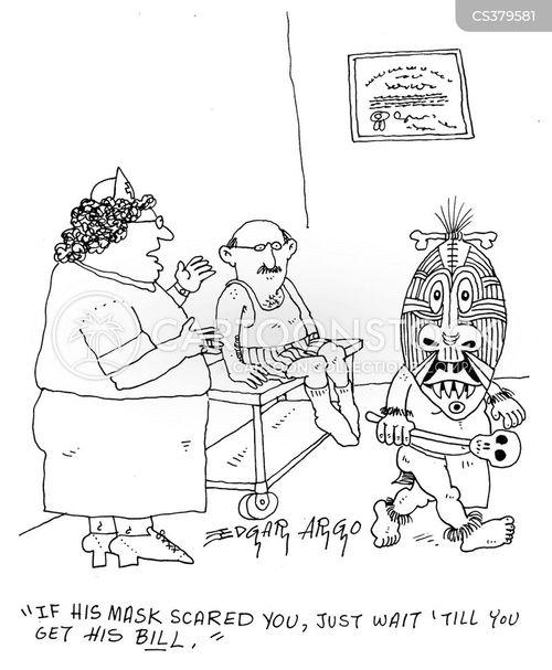 extortionate cartoon