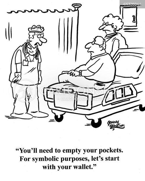 expensive doctors cartoon