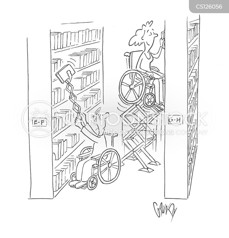 wheelchair ramp cartoon