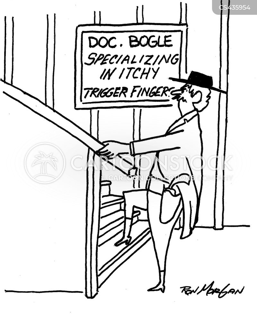 trigger happy cartoon