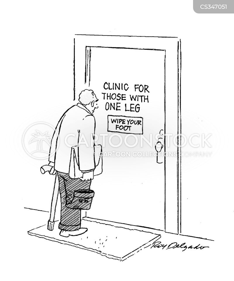 clinical cartoon