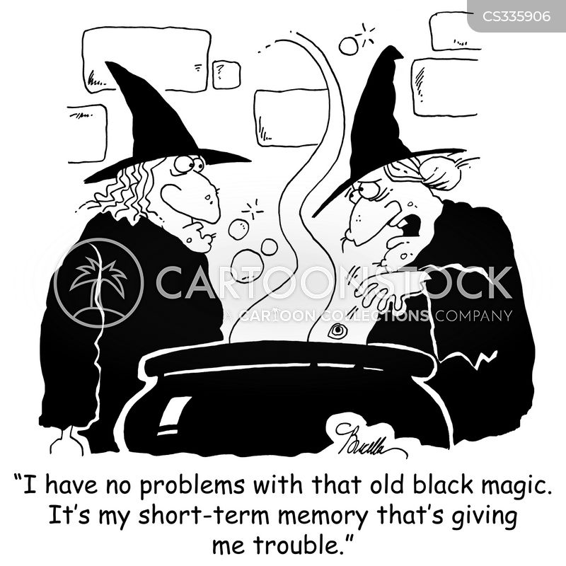 black magic cartoon