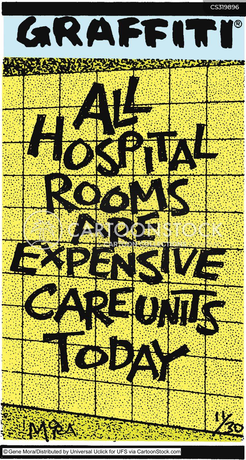 hospital rooms cartoon