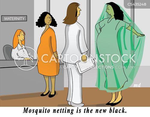 zika virus cartoon
