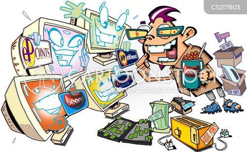 online advertising cartoon
