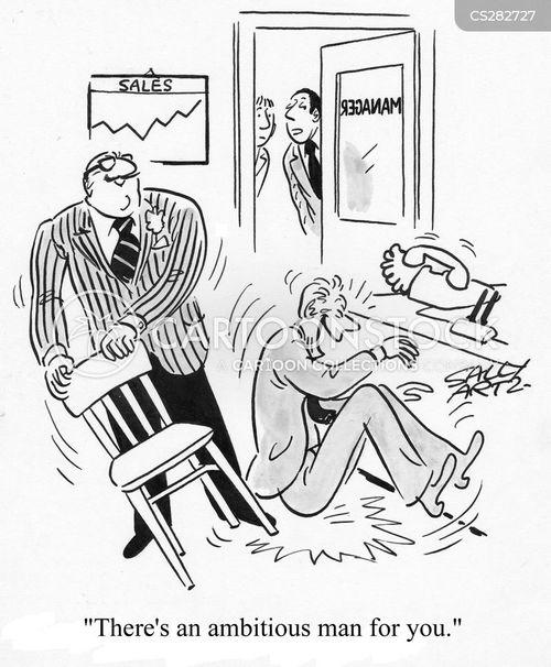 managerial cartoon