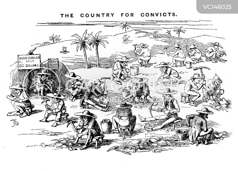Convict cartoons, Convict cartoon, funny, Convict picture, Convict pictures, Convict image, Convict images, Convict illustration, Convict illustrations
