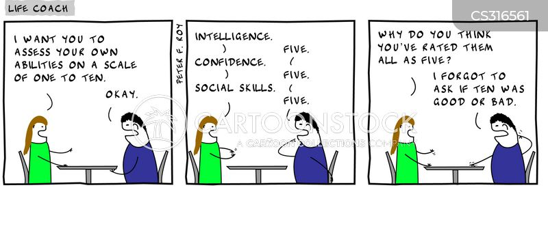 Self-Assessment Cartoons And Comics - Funny Pictures From Cartoonstock