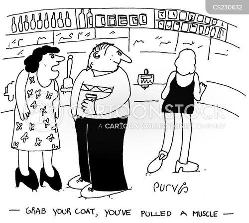 putting down cartoon