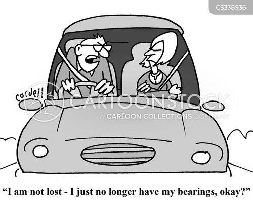 bearings cartoon