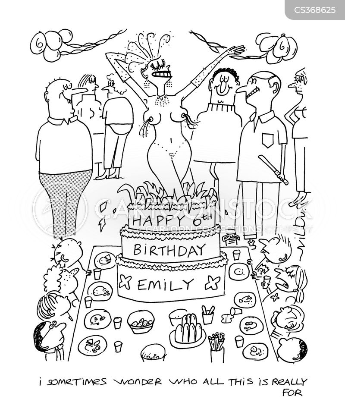 kids party cartoon