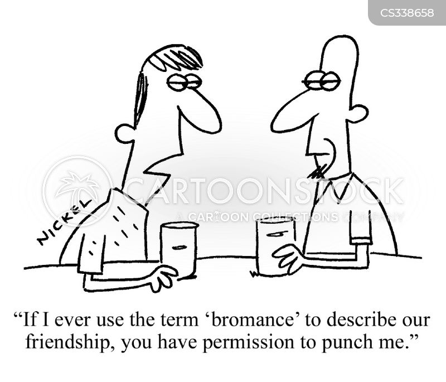 bromance cartoon