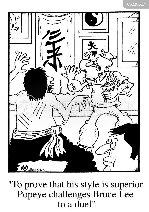 dual cartoon