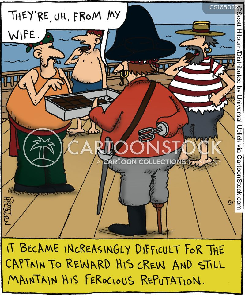 captains cartoon
