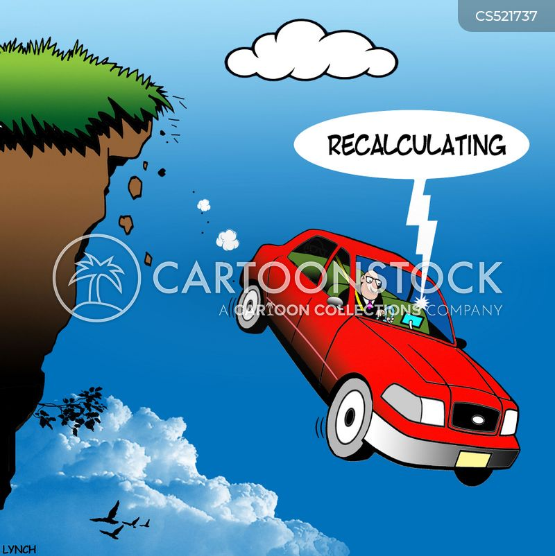 bad directions cartoon