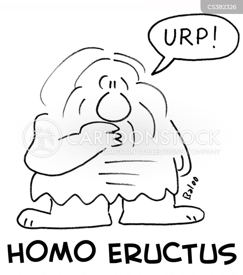 erectus cartoon