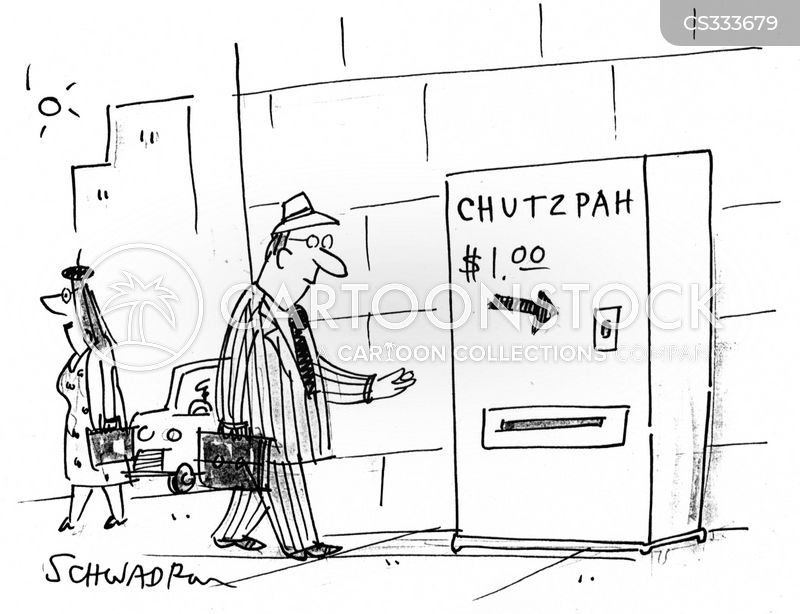 Chutzpah cartoons, Chutzpah cartoon, funny, Chutzpah picture, Chutzpah pictures, Chutzpah image, Chutzpah images, Chutzpah illustration, Chutzpah illustrations