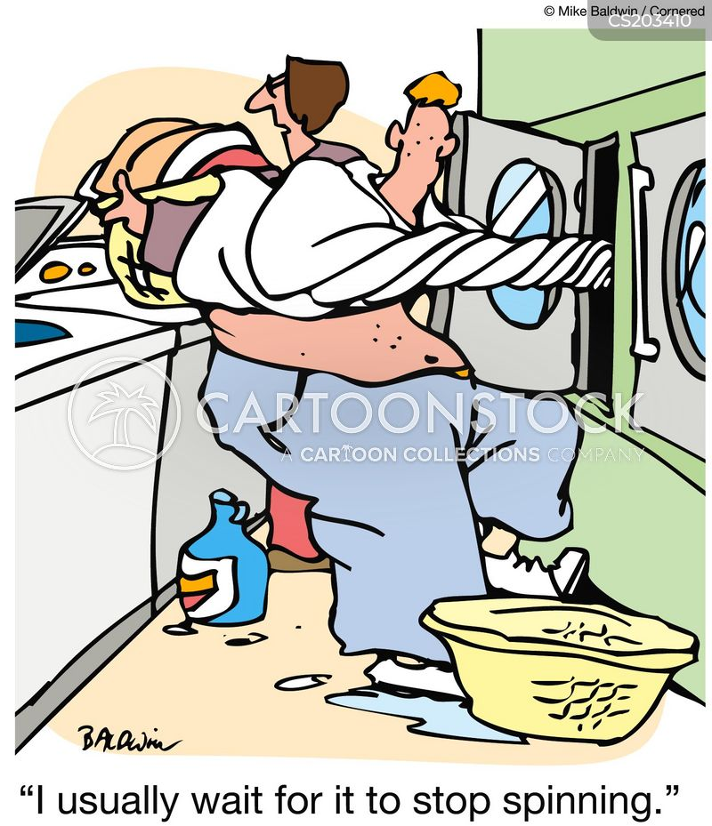 Spin Dryer Cartoons And Comics Funny Pictures From