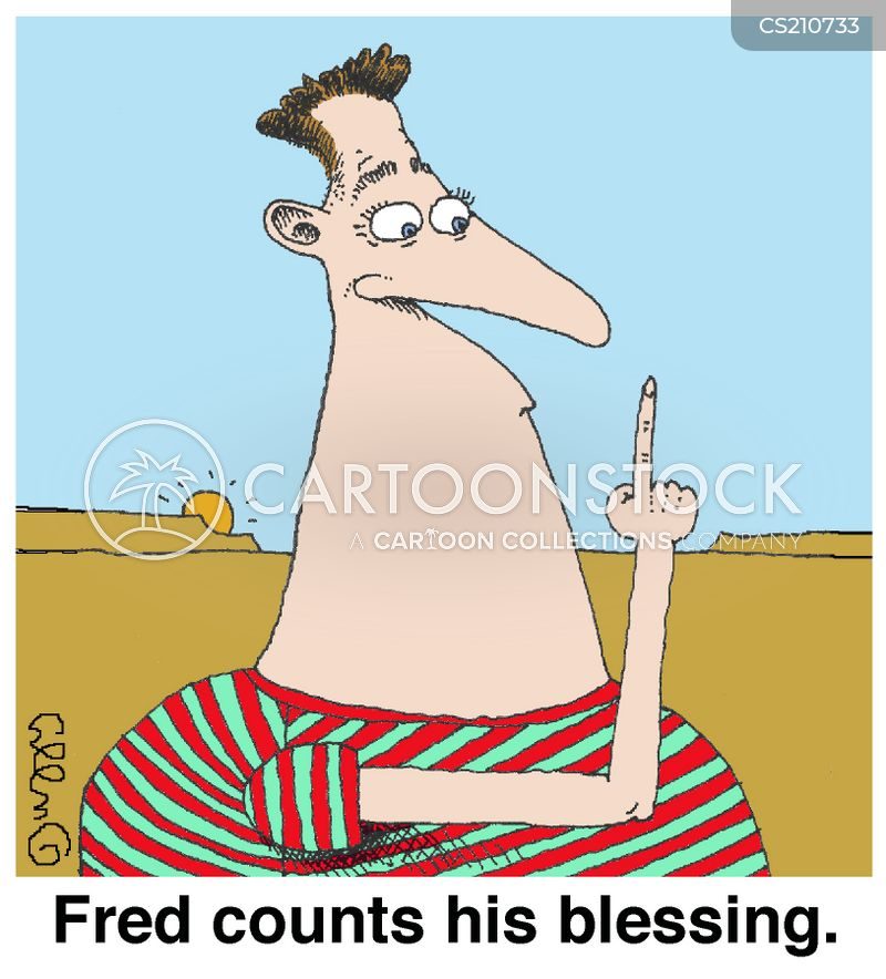 count your blessings cartoon