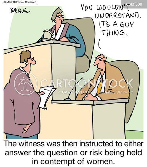 contempt of court cartoon